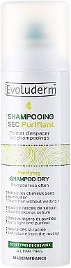 Сух шампоан - Evoluderm Dry Cleansing Shampoo