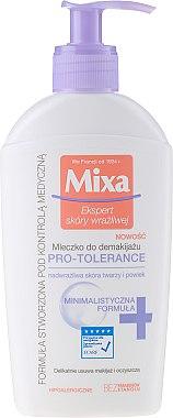 Почистващо мляко за лице - Mixa Pro-Tolerance Cleansing Milk — снимка N1