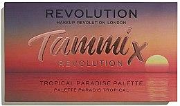 Парфюми, Парфюмерия, козметика Палитра сенки за очи - Makeup Revolution X Tammi Tropical Paradise Palette