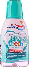 Парфюмерия и Козметика Вода за уста - Aquafresh Big Teeth Mouthwash