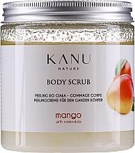 Парфюмерия и Козметика Скраб за тяло с манго - Kanu Nature Mango Body Scrub