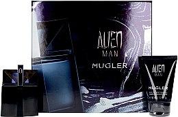 Парфюмерия и Козметика Mugler Alien Man Gift Set - Комплект (тоал. вода/50ml+душ гел-шамп./50ml)