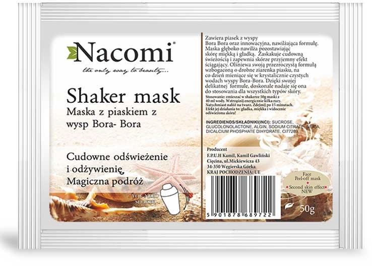 """Алгинатна маска за лице """"Бора Бора"""" - Nacomi Shaker Mask — снимка N1"""
