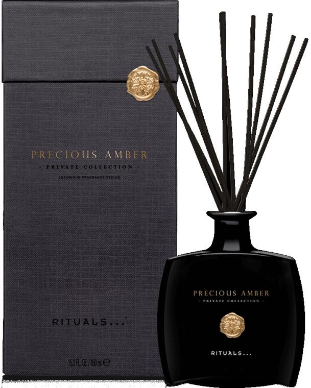 Арома дифузер c амбра - Rituals Precious Amber Fragrance Sticks — снимка N1