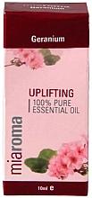 """Парфюмерия и Козметика Етерично масло """"Индрише"""" - Holland & Barrett Miaroma Geranium Pure Essential Oil"""