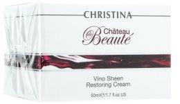"""Парфюми, Парфюмерия, козметика Възстановяващ крем """"Великолепие"""" на основата на екстракт от грозде - Christina Chateau de Beaute Vino Sheen Restoring Cream"""