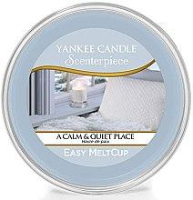 Парфюмерия и Козметика Ароматен восък - Yankee Candle A Calm & Quiet Place Scenterpiece Melt Cup
