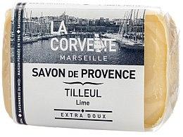 """Парфюми, Парфюмерия, козметика Провансалски сапун """"Липа"""" - La Corvette Provence Soap Lime"""