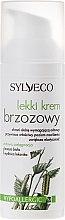 Лек крем за лице с бреза - Sylveco — снимка N2