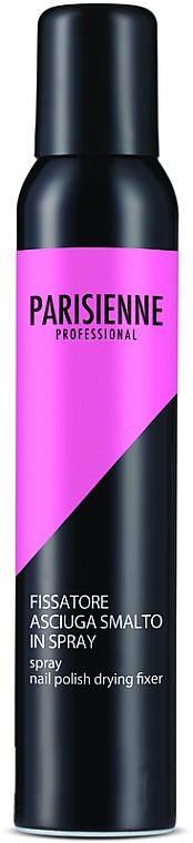 Спрей за фиксиране и изсушаване на лак за нокти - Parisienne Spray Nail Polish Drying Fixer — снимка N1