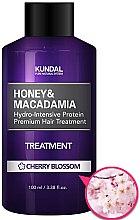 """Парфюми, Парфюмерия, козметика Балсам за коса """"Вишнев цвят"""" - Kundal Honey & Macadamia Treatment Cherry Blossom"""