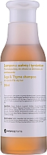 Парфюмерия и Козметика Шампоан против пърхот за мазна коса - Botanicapharma Sage & Thyme Shampoo