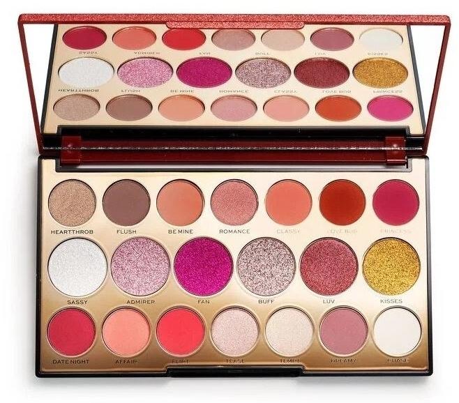 Палитра сенки за очи, 20 цвята - Makeup Revolution Precious Stone