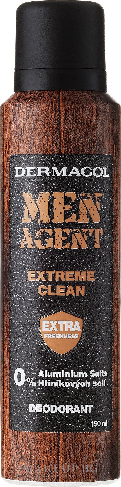 Дезодорант за мъже - Dermacol Men Agent Extreme Clean Deodorant — снимка 150 ml