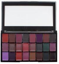 Парфюми, Парфюмерия, козметика Палитра червила за устни - Freedom Makeup London Pro Lipstik Palette Noir
