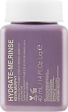 Парфюмерия и Козметика Интензивно хидратиращ балсам за коса - Kevin.Murphy Hydrate-Me Rinse Conditioner (мини)