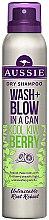 Парфюми, Парфюмерия, козметика Сух шампоан - Aussie Wash + Blow Kool Kiwi Berry Dry Shampoo