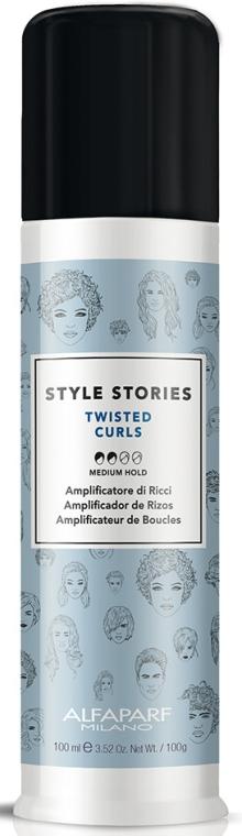 Крем за коса със средна фиксация - Alfaparf Style Stories Twisted Curls Medium Hold