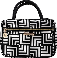 Парфюмерия и Козметика Козметична чанта Class, с дръжки, среден размер - Inter-Vion