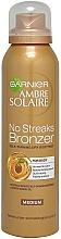 Парфюмерия и Козметика Спрей за автобронзант - Garnier Ambre Solaire No Streaks Bronzer Medium Self Tan Body Mist