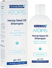 Парфюмерия и Козметика Шампоан с органично масло от коноп - Novaclear Atopis Hemp Seed Oil Shampoo