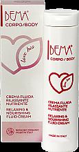 """Парфюми, Парфюмерия, козметика Крем-флуид за тяло """"Релакс и подхранване"""" - Bema Cosmetici Bema Love Bio Relaxing & Nourishing Fluid Cream"""