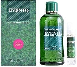 Парфюми, Парфюмерия, козметика Luxana Evento - Комплект тоалетна вода (edt/1000ml + edt/50ml)