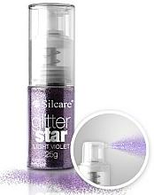 Парфюмерия и Козметика Декориращ блясък с дозатор - Silcare Glitter Star