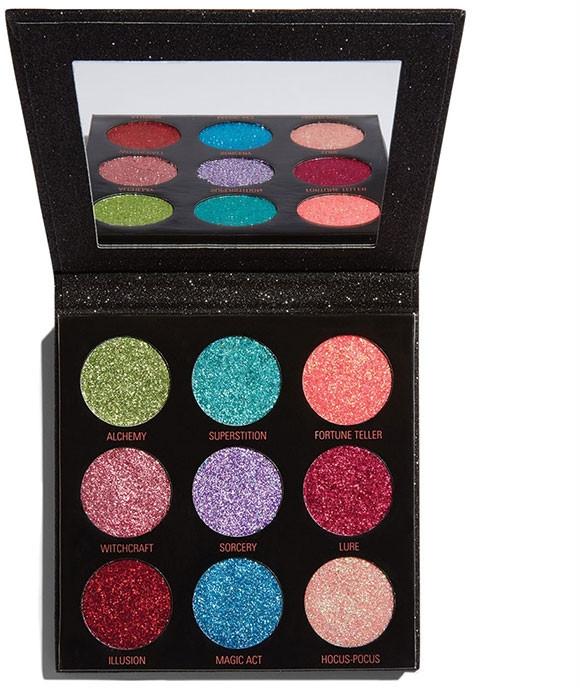 Палитра с брокат- Makeup Revolution Pressed Glitter Palette Abracadabra — снимка N1
