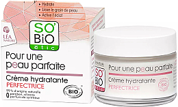 Парфюмерия и Козметика Овлажняващ крем за лице за безупречна кожа - So'Bio Etic Hydrating Cream
