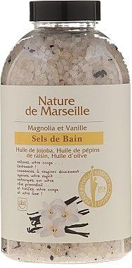 Соли за вана с аромат на магнолия и ванилия - Nature de Marseille — снимка N1