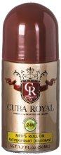 Парфюмерия и Козметика Cuba Royal - Рол-он дезодорант