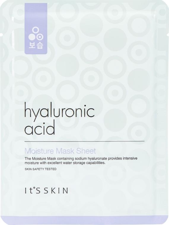 Хидратираща памучна маска за лице с хиалуронова киселина - It's Skin Hyaluronic Acid Moisture Mask Sheet — снимка N1