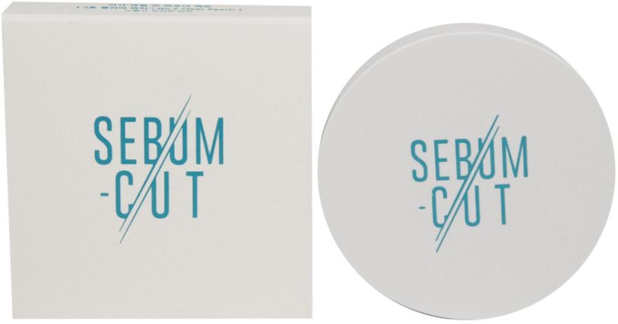 Компактна матираща пудра за лице - Missha Sebum Cut Powder Pact