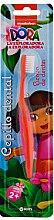 """Парфюми, Парфюмерия, козметика Детска четка за зъби """"Дора изследователката"""", оранжева - Kin Kid's Dora The Explorer Toothbrush"""