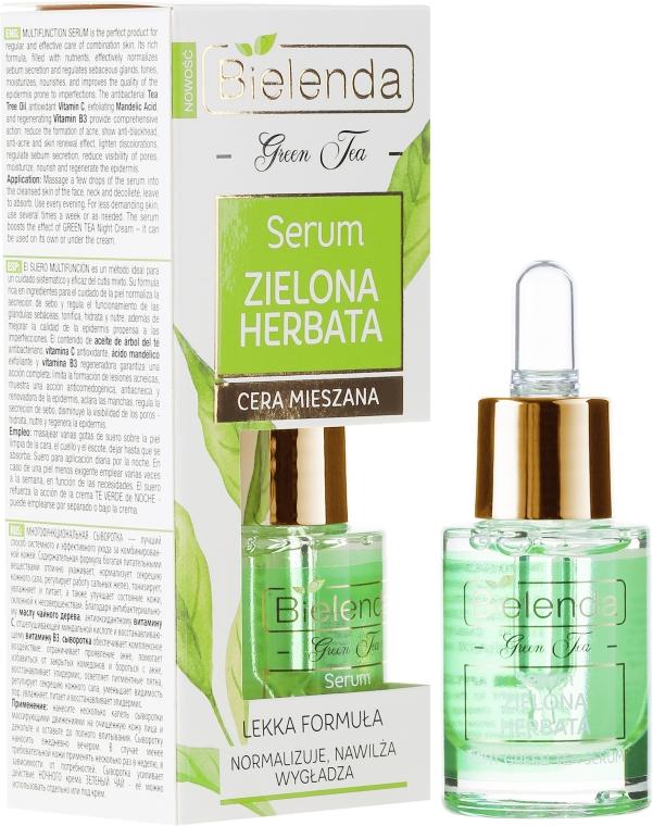 Многофункционален серум за лице - Bielenda Green Tea Face Serum — снимка N1