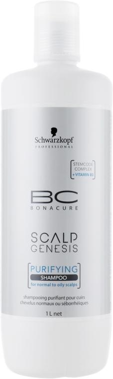 Шампоан за коса - Schwarzkopf Professional BC Bonacure Scalp Genesis Purifying Shampoo — снимка N3