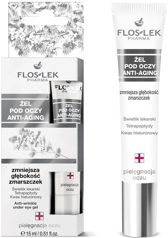 Гел за околоочна зона - Floslek Lid And Under Anti-Aging Eye Gel