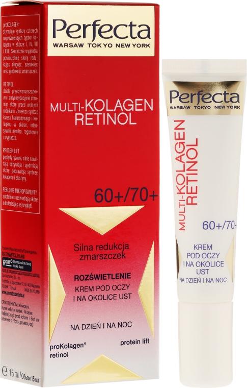 Околоочен крем - Dax Cosmetics Perfecta Multi-Collagen Retinol Eye Cream 60+/70+