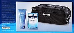Versace Man Eau Fraiche - Комплект (тоал. вода/100ml + душ гел/100ml + bag) — снимка N2