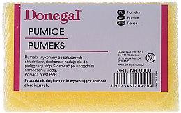 Парфюмерия и Козметика Пемза за пети, 9990, жълта - Donegal