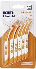 Парфюмерия и Козметика Интердентални четки 0,7 мм - Kin Supermicro ISO 1