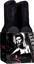 Парфюмерия и Козметика Комплект еднократни пилички за нокти - MiaCalnea Noir One Use