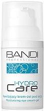 Парфюмерия и Козметика Хидратиращ гел-крем за околоочна зона - Bandi Professional Hydro Care Moisturizing Eye Cream-Gel