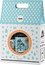 Парфюмерия и Козметика Комплект за тяло - Yope Zimowe Ciasteczka (душ гел/400ml + сапун/500ml + балсам за тяло/300ml)