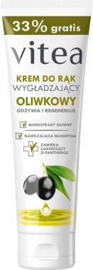 Изглаждащ крем за ръце с маслини - Vitea Moisturizing Hand Cream Olive Oil — снимка N1