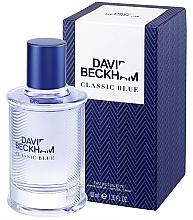 Парфюмерия и Козметика David Beckham Classic Blue - Тоалетна вода