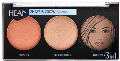 Палитра за контуриране - Hean Shape & Glow Palette