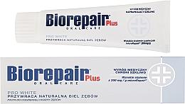 Парфюмерия и Козметика Избелваща паста за зъби - BioRepair Plus PRO White