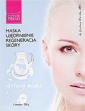 Парфюмерия и Козметика Маска за лице с млечен протеин - Czyste Piekno Face Mask